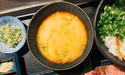 海老味噌湯