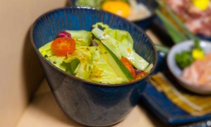 萵苣美生菜沙拉