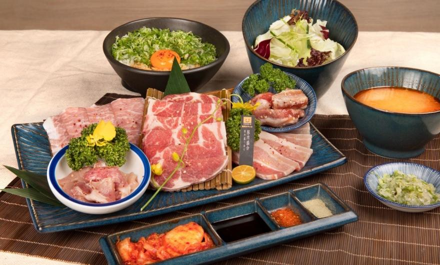 豚肉盛合套餐